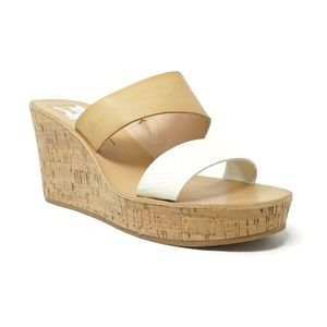 NEW Dolce Vita Pimms Cork Wedge Sandals Size 12